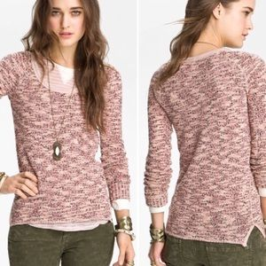 WE THE FREE   BOSTON MELANGE  MARLED KNIT
